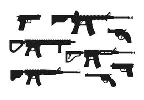 Pacote de armas de vetores