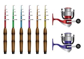Fishing Rod Vectors
