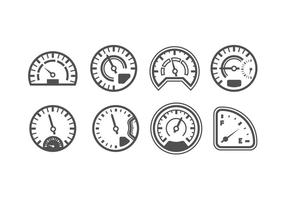 Pack of Speedometer Vectors