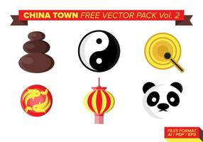 China town kostenlos vektor pack vol. 2