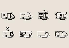 Iconos de Minibus