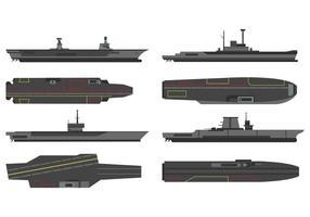 Vektor von Flugzeugträgern