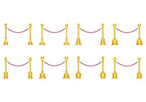 Vector Of Velvet Rope