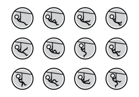Zipline Vector Icons