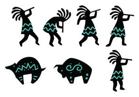 Kokopelli Figure