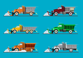 Free Snow Plow Vector