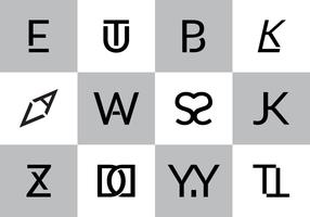 Free Monograms Vector