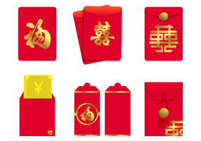 Free Red Packet Vector