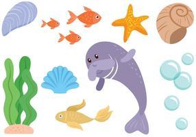 Freie Meer Vektoren
