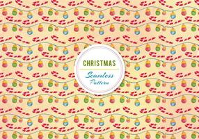 Christmas Ornament and Candy Cane Vector