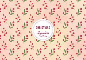 Vector Weihnachten Beeren Muster