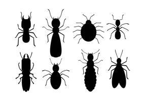 Icônes de termites