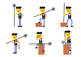 Free Chimney Sweep Vector