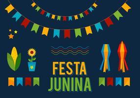 Free Vector Junina Elemente