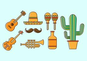 Gratis Mariachi Icon Vector