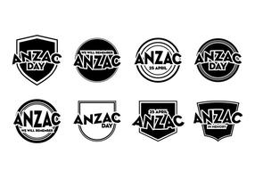 Gratis Anzac Day Badge Vector