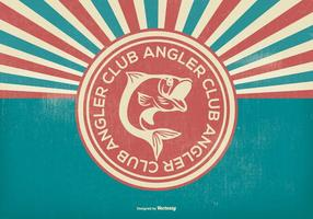 Illustration de Retro Angler Club