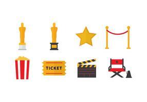 Oscar-ikoner för gratis Oscar