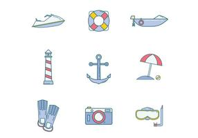 Gratis Beach Icon Vector