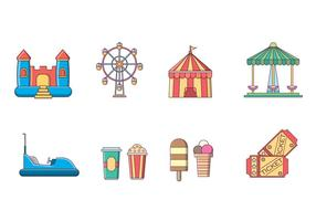 Free Amusement Park Vector