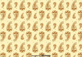 Brown Cashmere Seamless Pattern