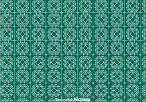 Green Keffiyeh Pattern