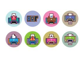 Gratis Printer Icon Set