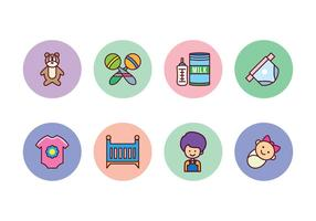 Gratis Baby Icon Set