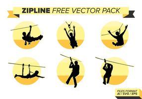Zipline kostenloser Vektor Pack