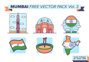 Mumbai Gratis Vector Pack Vol. 3