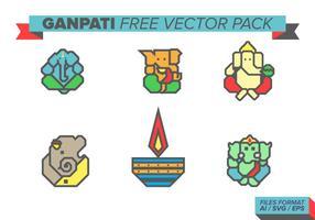 ganpati pack vettoriali gratis