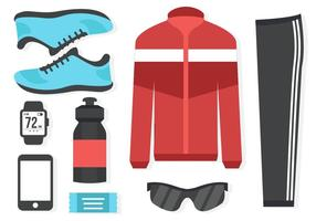 Free Running Equipment Vector