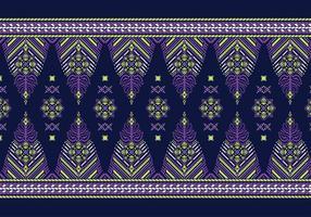 Songket Pandai Pattern Free Vector