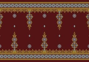 Songket Rumpak Pattern Freier Vektor