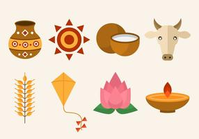 Gratis Pongal Vector Icon
