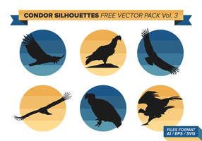 Condor Silhouettes Free Vector Pack Vol. 3