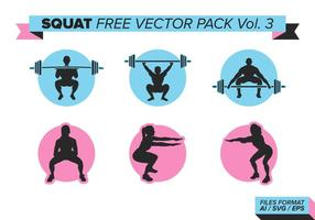 Squat Vector Pack Vol. 3