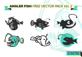 Angler Fish Free Vector Pack Vol. 2