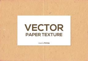 Textura de papel vetorial