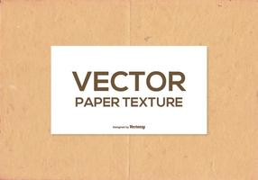 Textura de papel de vector