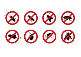 Pest Control Sign Vector