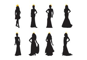 Free Pageant Silhouette Vektor