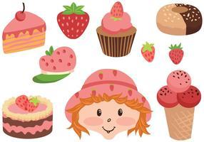 Free Shortcake Vectors