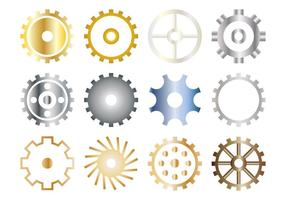 Gratis Gears Icon Vector