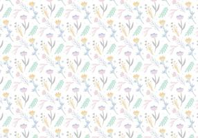 Vector-floral-pattern-background