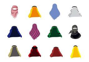 Gratis arabisk hatt Keffiyeh Vector