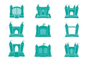 Icon vector Bounce House