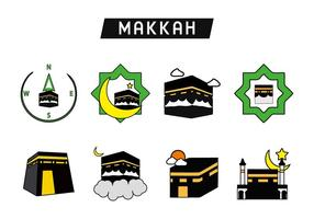 Santo Kaaba Makkah Vector