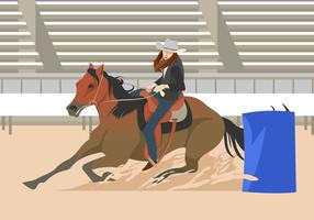Barrel Racing Event