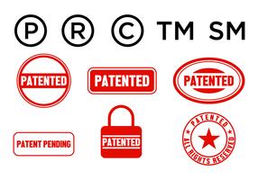 Freier Patent-Vektor